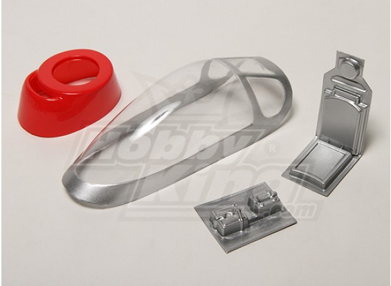 HK P-51D Mustang Canopy & Cowl Replacement Set