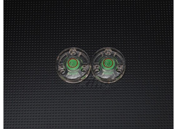 Button Spirit Level (2pc)