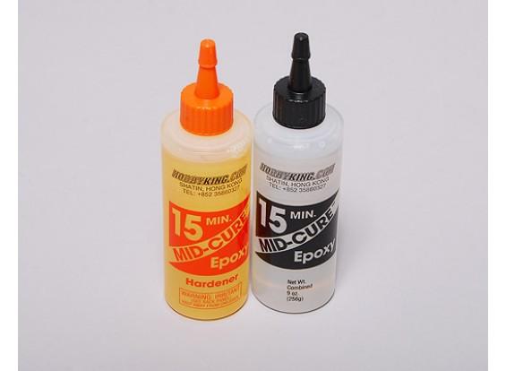 Mid-Cure 15 Min Epoxy Glue 9. oz