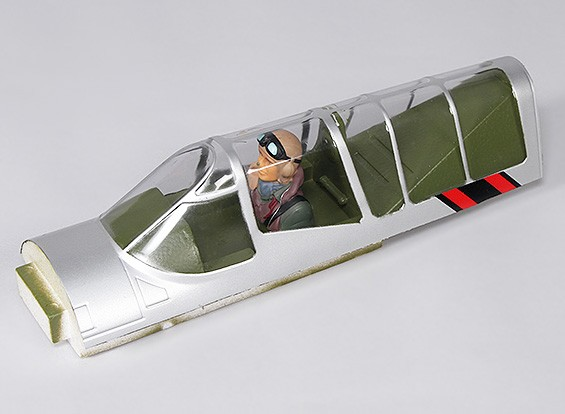 P-40N (Silver) 1700mm - Replacement Canopy