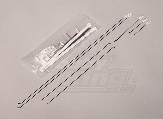 Cessna 182 Deluxe Version - Plastic parts and Push Rod set