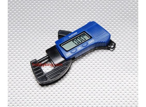 Carbon Fiber Composite Digital Thickness Gauge 12mm
