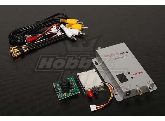 900MHZ 100mW Tx/Rx & 1/3-inch CCD Camera NTSC