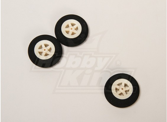 Super Light 5 Spoke Wheel D35xH10 (3pcs/bag)