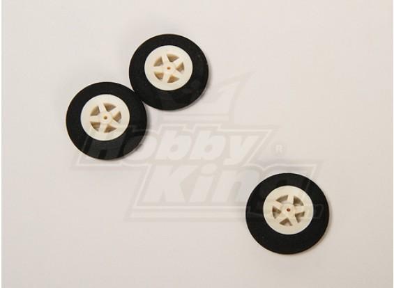 Super Light 5 Spoke Wheel D40xH10 (3pcs/bag)