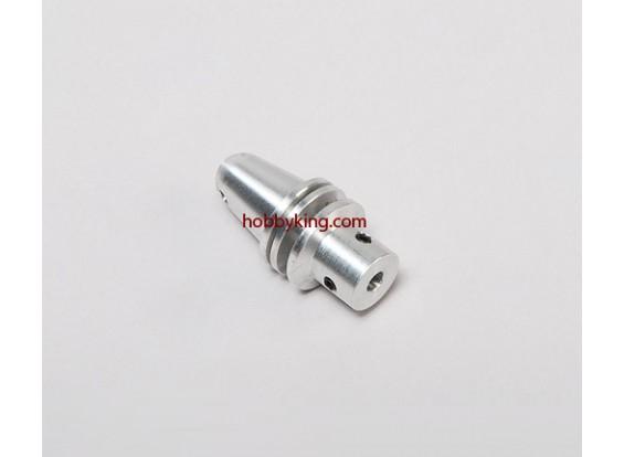 Prop adapter w/ Alu Cone M6x4mm shaft (Grub Screw Type)