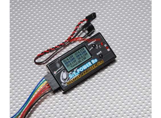 GT-Power Voltage Analyzer 3 in 1 (2S-6S)