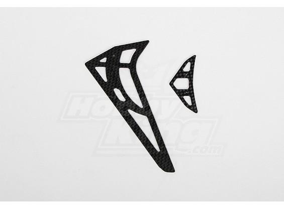GT450PRO CF horizontal/vertical tail fin