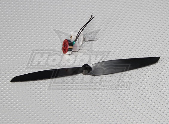 HKP8-C10 Micro Power System with Gearbox plus Prop 8700kv