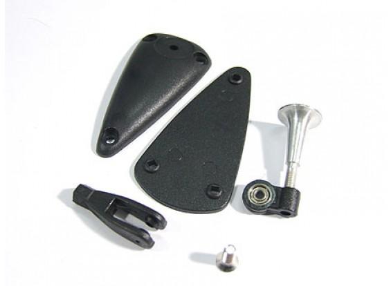 Alloy Adjustable Horn W Base/Bearing 2.8x15mm