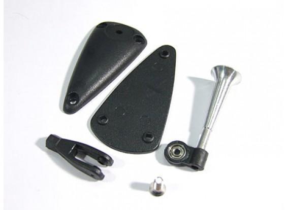 Alloy Adjustable Horn W Base/Bearing 2.8x34mm