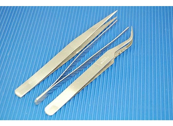 Tweezer Set 3pc