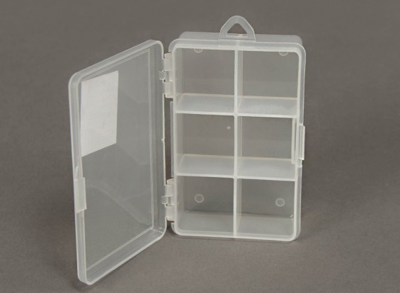Plastic Multi-Purpose Organizer 6 Compartment