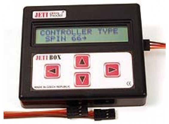 Jeti Programming box and testing tool