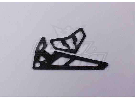 TZ-V2 .50-TT - Carbon Fiber Tail Fin