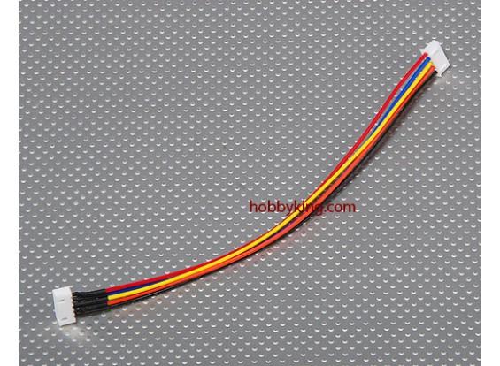 JST-XH Wire Extension 4S (20cm)