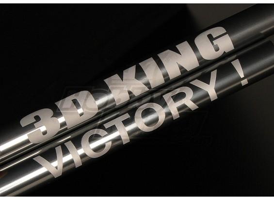 HK450Pro Tail Boom w/ Custom Laser Text