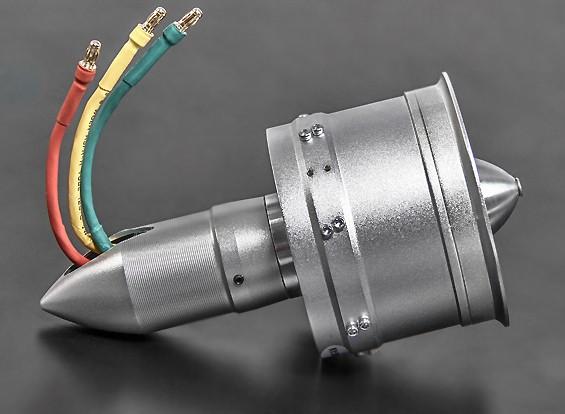 10 Blade Alloy DPS 70mm EDF unit - 4s 3000kv 1200watt