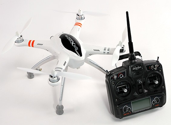 Walkera QR X350 PRO FPV GPS RC Quadcopter DEVO 7 (Mode 2) (Ready to Fly)