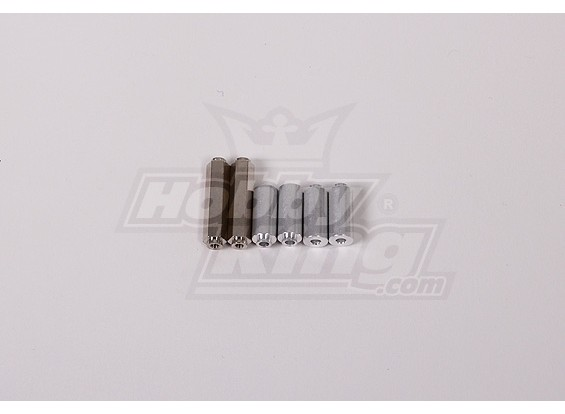 RC Motor Bike Replacement RR Frame Post Set
