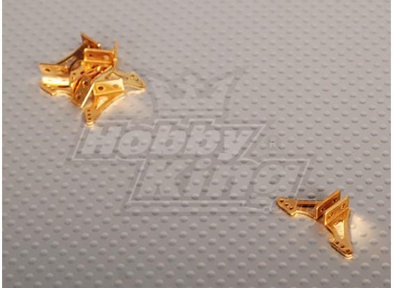 Alloy Horn L13.5 x H14mm (5 Pairs/bag)
