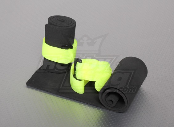 Receiver & General Purpose Protecting Sponge with Velcro Strap (2pcs)