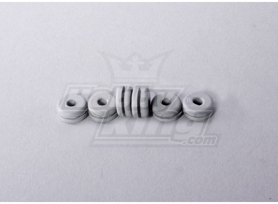 Heli Canopy Rubber Grommet Small (6pcs/bag)