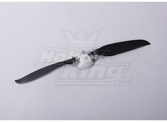 Folding Propeller Assembly 10x8 (Alloy/Hub Spinner) (1pc/bag)