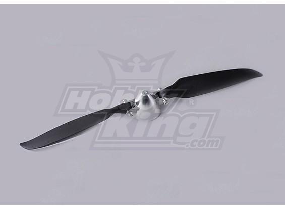 Folding Propeller Assembly 11x8 (Alloy/Hub Spinner) (1pc/bag)