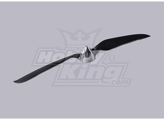 Folding Propeller Assembly 14.5x9.5 (Alloy/Hub Spinner) (1pc/bag)