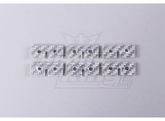 Glass Fiber Servo Fixing Plate (Universal Use) (6pc/bag)