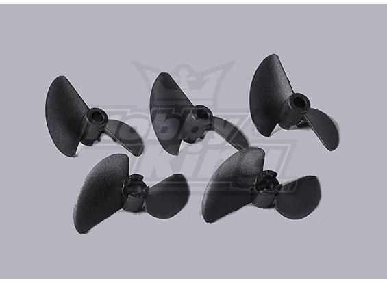 2-Blade Boat Propellers 40x40mm (5pcs/bag)