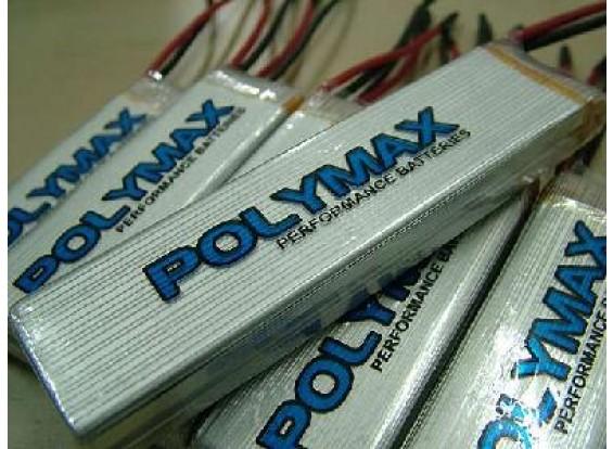 Polymax 3000mAh 7.4v 12C Li-Poly