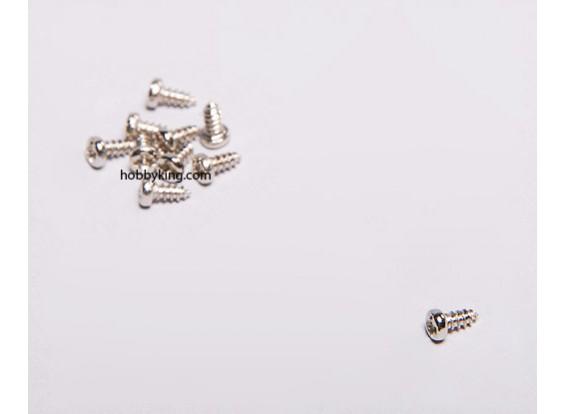 Self Tapping Screw M1.75x4mm Phillips Head (10pcs)
