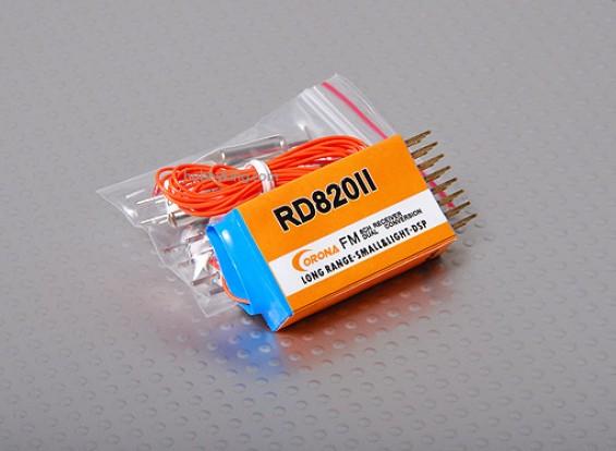 Corona 8Ch Dual Conv. Rx 72MHz (incl. 10 Rx Crystal)