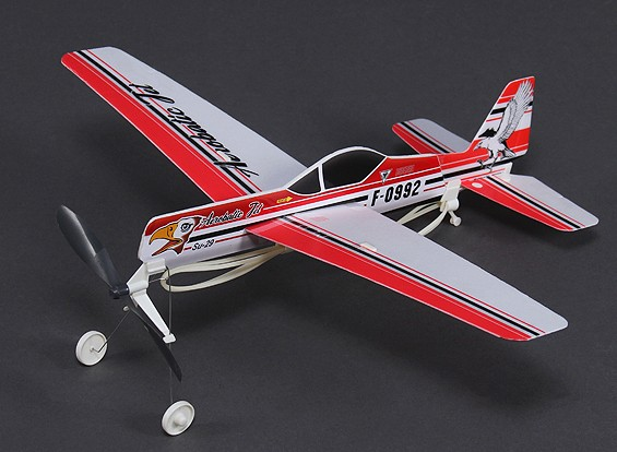 SU-29 Rubber Band Powered Freeflight Model 480mm Span