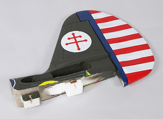 P-40N (Green) 1700mm - Replacement Rudder