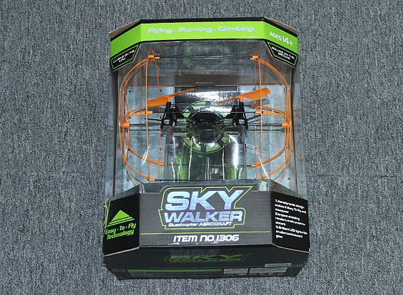 SCRATCH/DENT -  Skywalker Caged Quadcopter with 2.4GHz Transmitter (Mode 2) (RTF)