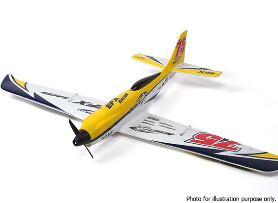 SCRATCH/DENT - Durafly™ EFX Racer High Performance Sports Model (PnF) - Yellow Edition