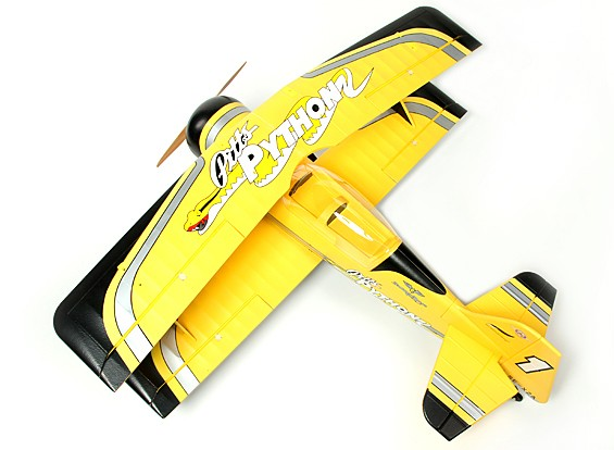SCRATCH/DENT - Pitts Python Aerobatic Biplane EPO 1400mm (PNF)