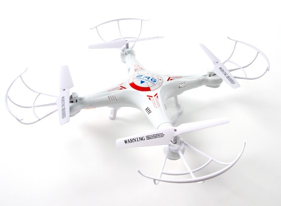 SCRATCH/DENT - K-300 6-Axis Quad Copter With LED Lighting System (RTF)