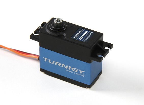 SCRATCH/DENT - Turnigy TGY-605BL Digital Metal Geared High Speed Brushless Servo 60g/5.5kg/0.05sec