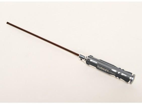 Turnigy 4mm XL Shaft Flat Head Screwdriver