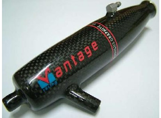 Carbon Fibre Pipe for HPI Savage