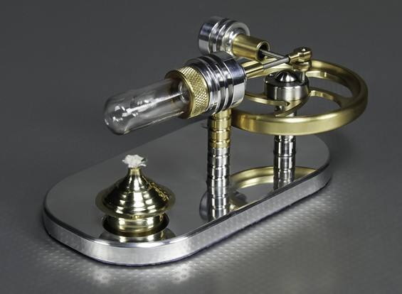 Stirling Displacement Engine - Working Display Model