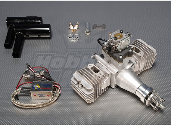 SV 100cc Twin Gas Engine CDI 7.1kw (ver2) SELLOUT