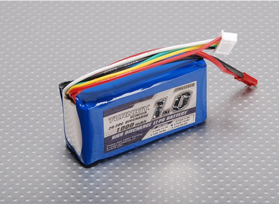 Turnigy 1000mAh 4S 20C Lipo Pack