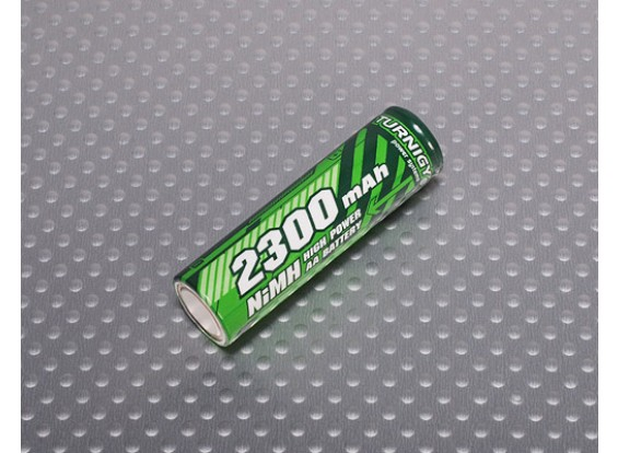Turnigy 2300mah AA battery NiMH (True Capacity)