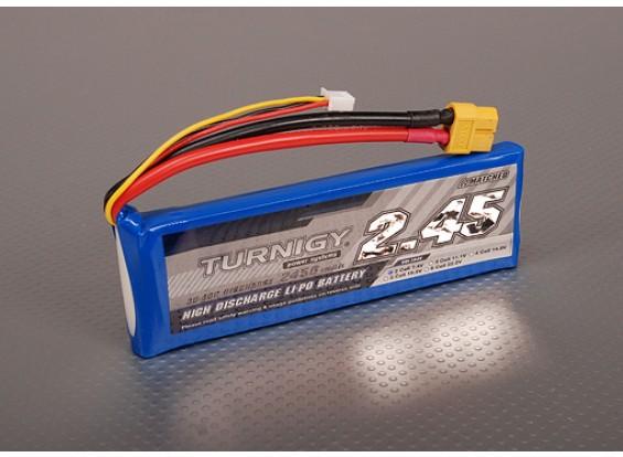Turnigy 2450mAh 2S 30C Lipo Pack