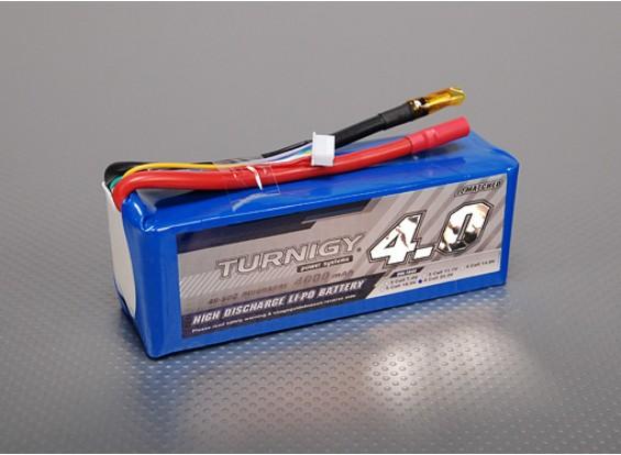 Turnigy 4000mAh 6S 40C Lipo Pack